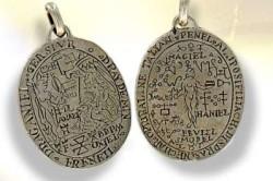 Древний амулет из серебра