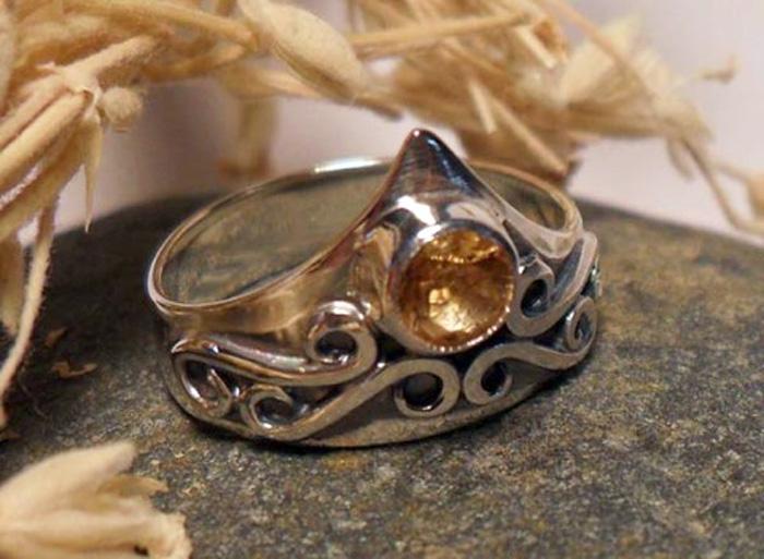 Дизайнерское кольцо корона