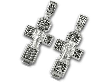 Православные серебряные  крестики