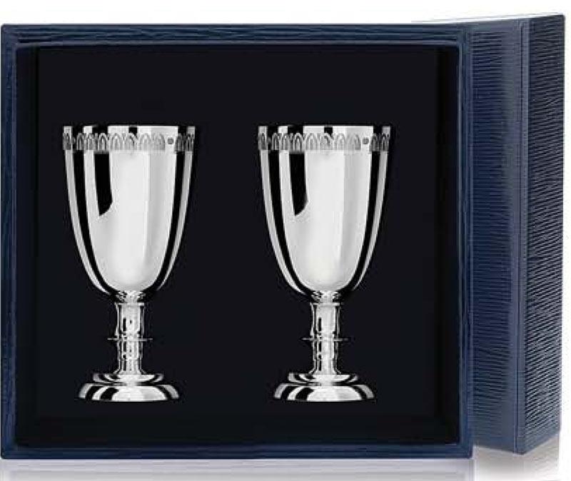 Подарочные серебряные рюмки