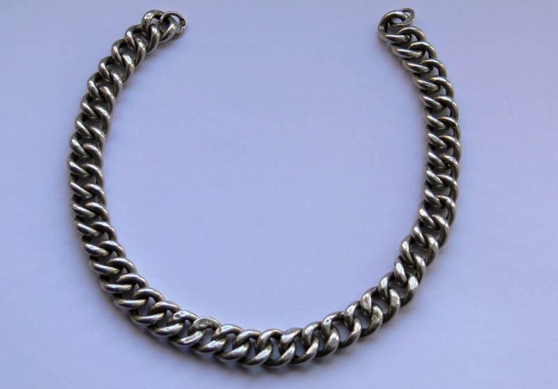 Как сделать серебряную цепочку фото 977