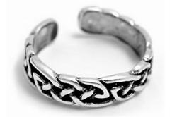 Серебряное кольцо с кельтским орнаментом