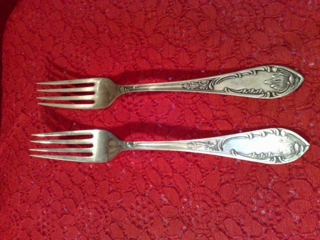 Серебряные вилки