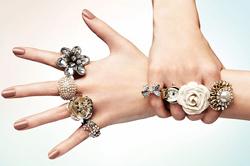 Женские украшения из серебра