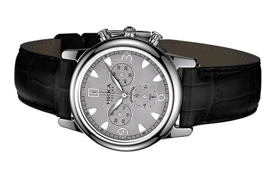 Серебряные часы для мужчины