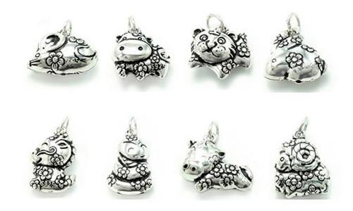 Кулоны из Китайского серебра
