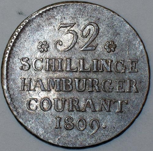 Монета Гамбург