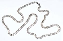 Мужская серебряная цепочка