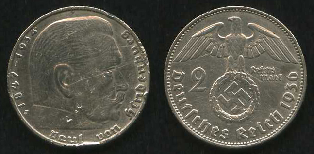 Серебряные монеты Германии в истории государства
