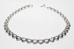Женская серебряная цепочка