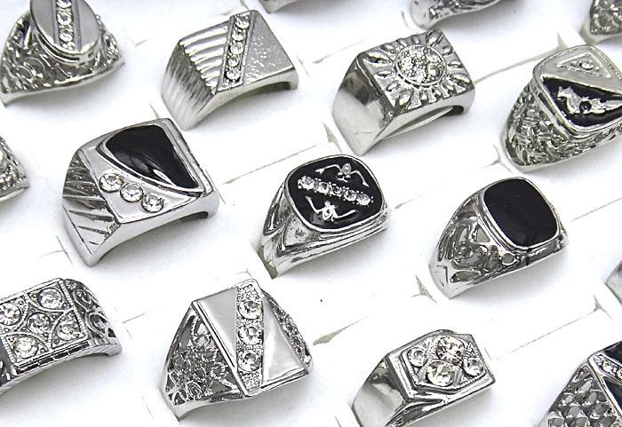 Перстни из серебра