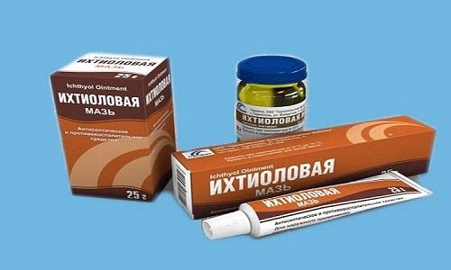 Ихтиоловую мазь не рекомендуется наносить на открытую рану