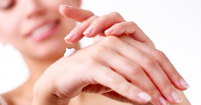 Применение мази на открытом участке кожи
