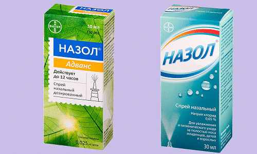 Назол и Назол Адванс используют для облегчения носового дыхания при простуде, синусите и вирусных инфекциях