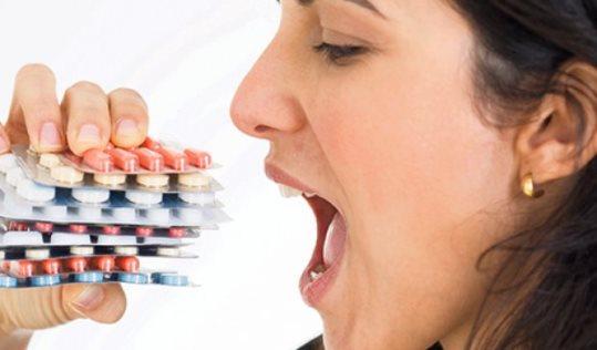 Необдуманный прием лекарств