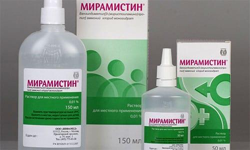 Мирамистин не только борется с бактериями, но и оказывает воздействие на вирусы
